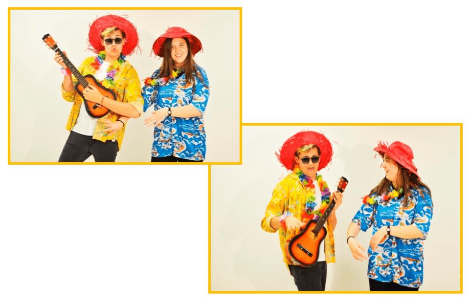fiestas temáticas infantiles Valencia - Hawaiana