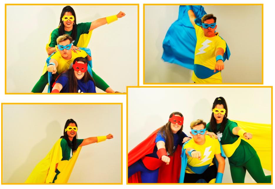 fiestas temáticas infantiles Valencia - Superhéroes
