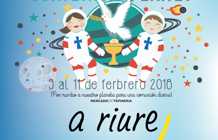 "A RIURE EN LA  FERIA ""COMUNION PLANET"" 2018"