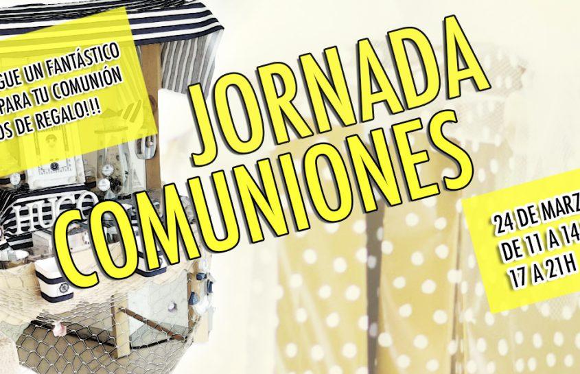 Jornada ESPECIAL COMUNIONES 2018!