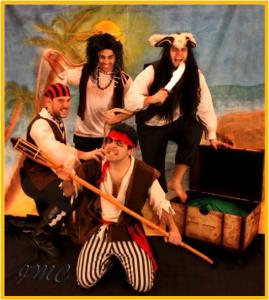 servicio de animación infantil -  piratas