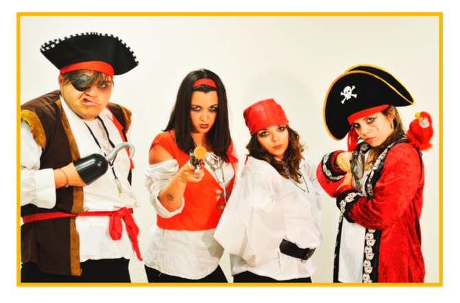 fiestas temáticas infantiles Valencia - piratas