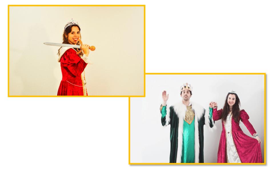 fiestas temáticas infantiles Valencia - Princesas